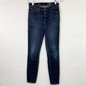 J. Crew tall high rise skinny jeans